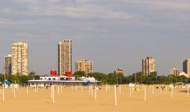 Пляж Чикаго Стоковое Изображение RF
