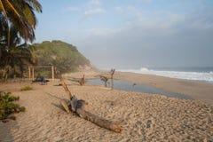 пляж чолумбийский Стоковое Изображение