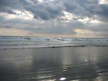 Пляж Чёрного моря Стоковое Изображение