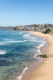 пляж штанги newcastle Австралии Стоковое Изображение
