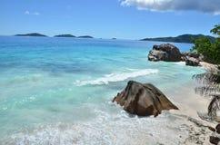 пляж экзотический Стоковое фото RF