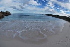 пляж экзотический Стоковое Изображение