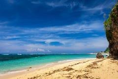 Пляж южное Kuta Dreamland, Бали Стоковое фото RF