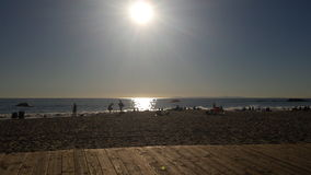 Пляж южной Калифорнии Стоковые Изображения