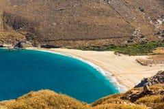Пляж Achla Стоковое фото RF