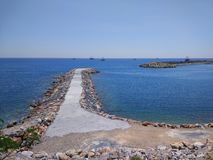 Пляж Alanya Стоковая Фотография RF