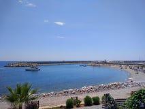 Пляж Alanya Стоковое фото RF