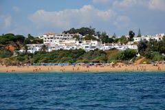 Пляж Alemaes стоковые фотографии rf