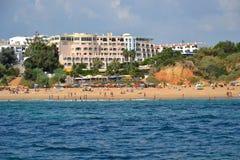 Пляж Alemaes стоковая фотография