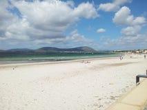 Пляж Alghero Стоковое Изображение RF