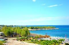 Пляж Alimos Стоковое Изображение