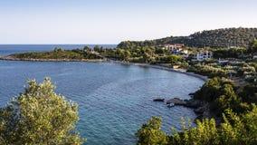 Пляж Alonissos Steni Vala Стоковое фото RF