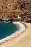 Пляж Andros Achla Стоковое фото RF