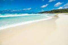 пляж anse грандиозный Стоковая Фотография