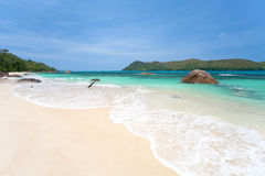 Пляж Anse Boudin Стоковые Фотографии RF
