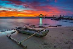 пляж anyer Стоковое Фото