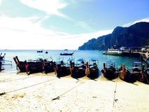 Пляж Ao Nang Стоковое Изображение RF