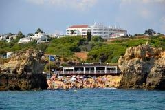 Пляж Arrifes стоковое изображение rf