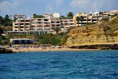 Пляж Aveiros стоковые изображения rf