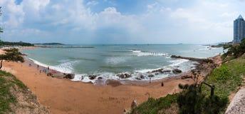 Пляж Badaguan в Tsingtao Стоковая Фотография