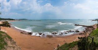 Пляж Badaguan в Tsingtao Стоковая Фотография RF