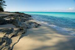 Пляж Bahama Bimini Стоковая Фотография RF