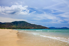 Пляж Bai Dai (также известный как Лонг-Бич), Khanh Hoa, Вьетнам Стоковые Фото