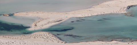 Пляж Balos Стоковые Изображения