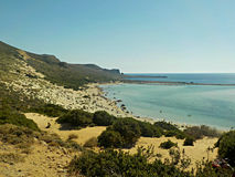 Пляж Balos Стоковое фото RF