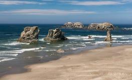 Пляж Bandon Стоковая Фотография RF