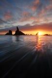 Пляж Bandon Стоковое фото RF