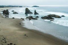 Пляж Bandon Стоковые Фото