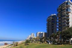 Пляж BAT-YAM стоковая фотография rf