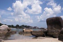 Пляж Belitung Стоковая Фотография RF