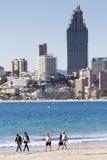 Пляж Benidorm Стоковое Изображение