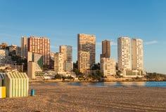 Пляж Benidorm Стоковое фото RF