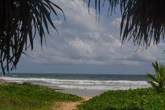 Пляж Bentota Стоковые Изображения