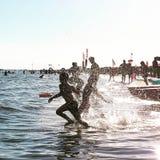 Пляж Bibione Стоковое Изображение RF