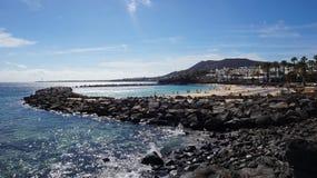 Пляж Blanca Playa Стоковое Изображение