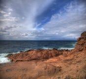 Пляж Bodrum Турция Pandorus Стоковые Фото