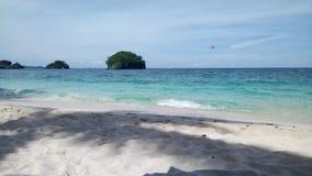 Пляж Boracay Филиппин Стоковое Изображение