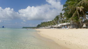 Пляж Boracay Стоковое Изображение RF