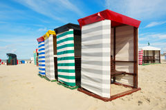 Пляж Borkum Стоковое Изображение RF