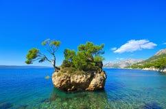 Пляж Brela Стоковое Фото