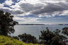 Пляж Bucklands, Окленд Новая Зеландия Стоковое фото RF
