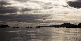 Пляж Bucklands, Окленд, Новая Зеландия Стоковые Изображения RF