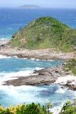 Пляж, Buzios, Бразилия Стоковые Фото