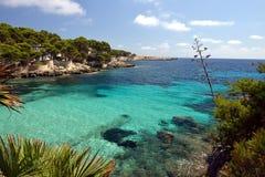 Пляж Cala Gat - Мальорка Стоковые Изображения RF