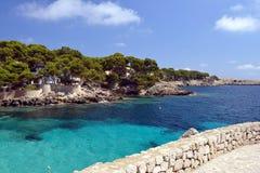 Пляж Cala Gat - Мальорка Стоковое фото RF