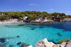 Пляж Cala Gat - Мальорка Стоковое Изображение RF